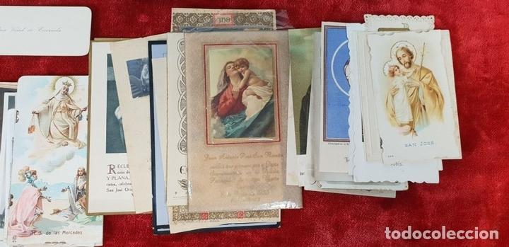 Postales: COLECCION DE 88 ESTAMPAS RELIGIOSAS. PAPEL IMPRESO. SIGLO XX. - Foto 7 - 147010738