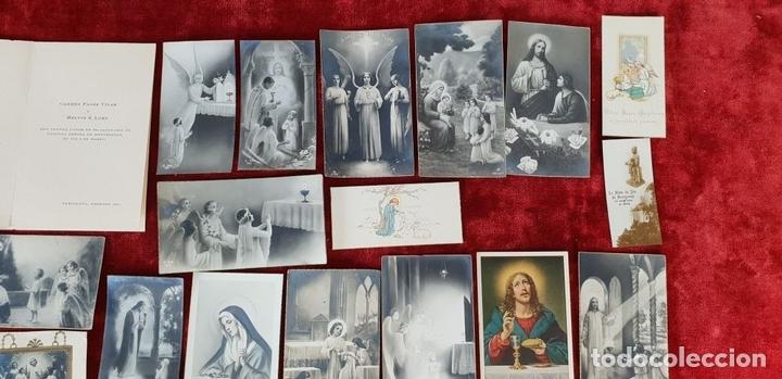 Postales: COLECCION DE 88 ESTAMPAS RELIGIOSAS. PAPEL IMPRESO. SIGLO XX. - Foto 8 - 147010738