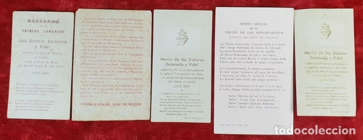 Postales: COLECCION DE 88 ESTAMPAS RELIGIOSAS. PAPEL IMPRESO. SIGLO XX. - Foto 9 - 147010738