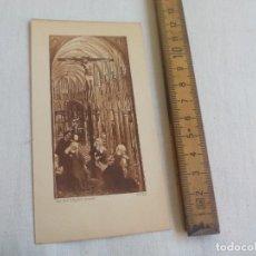 Postales: VAN DER WEYDEN PINXIT. Nº 22. 1927. ESTAMPA RELIGIOSA, RECORDATORIO. Lote 147397778