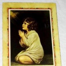 Postales: ANTIGUO RECUERDO DE PRIMERA COMUNIÓN 1954. Lote 147574150