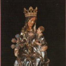Postales: POSTAL DE LA REAL COLEGIATA Y VIRGEN DE RONCESVALLES - NAVARRA - DE SICILIA SIN Nº . Lote 147588102