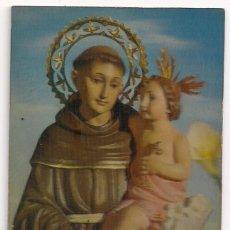 Postales: ANTIGUA POSTAL CON RELIEVE DE SAN ANTONIO DE PADUA - R-105 - ESCUDO DE ORO - PROCEDIMIENTO PATENTADO. Lote 147623910