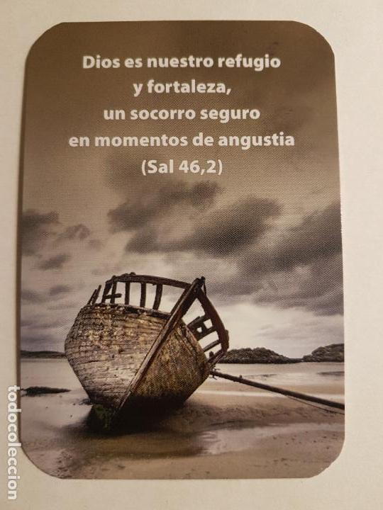 CALENDARIO CON SALMO (Postales - Postales Temáticas - Religiosas y Recordatorios)
