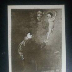 Postales: POSTAL ANTIGUA SAN ANTONIO DE PADUA Y NIÑO JESUS RIVERA. Lote 148105613