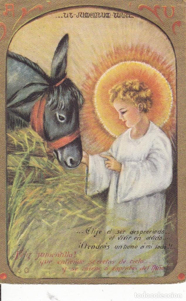 RECUERDO DE MIS VOTOS PERPETUOS 1948 (Postales - Postales Temáticas - Religiosas y Recordatorios)