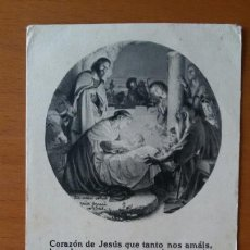 Postales: ESTAMPA RELIGIOSA. 1940.. Lote 148409382