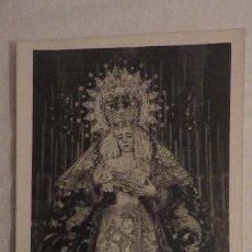 Postales: RECUERDO SOLEMNE SEPTENARIO.VIRGEN DEL LA ESTRELLA.SEVILLA 1958.FOTO ANTONIO.. Lote 148633914