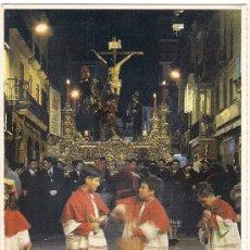 Postales: -30130 POSTAL SEMANA SANTA MALAGA, SANTISIMO CRISTO DE LA SANGRE, CRUCIFICADO, RELIGIOSA. Lote 148674246