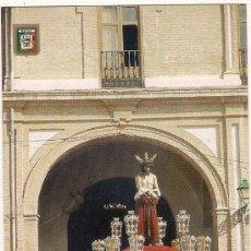 Postales: -64386 POSTAL SEMANA SANTA MALAGA, SANTISIMO CRISTO DE LA HUMILDAD, RELIGIOSA, ESCUDO DE ORO. Lote 148677538