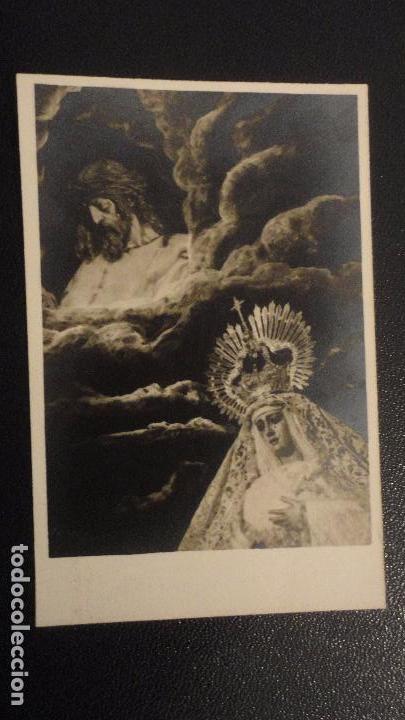 RECUERDO SOLEMNE QUINARIO.CRISTO DEL AMOR.SEVILLA 1963 FOTO FERNAND. (Postales - Postales Temáticas - Religiosas y Recordatorios)