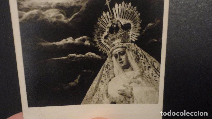 Postales: RECUERDO SOLEMNE QUINARIO.CRISTO DEL AMOR.SEVILLA 1963 FOTO FERNAND. - Foto 2 - 149214362