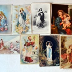 Postales: LOTE 16 POSTALES ANTIGUAS RELIGIOSAS. Lote 150279422