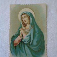 Postales: ANTIGUA ESTAMPA RELIGIOSA - MADRE DE LOS DOLORES. Lote 150556770