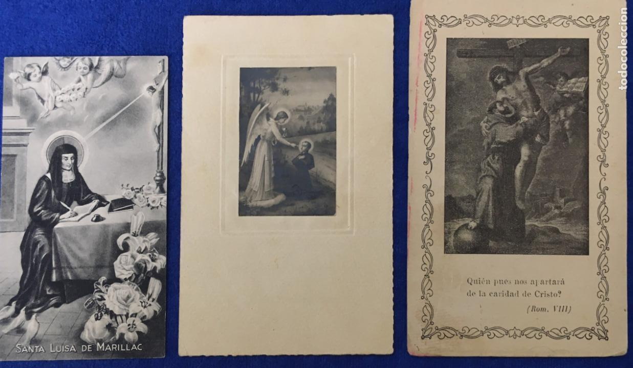 Postales: Lote Antiguo de Tarjetas Postales, Recordatorios y otros religiosos . 35 unidades. Ver fotos - Foto 3 - 150954614