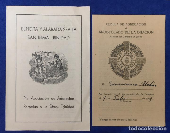 Postales: Lote Antiguo de Tarjetas Postales, Recordatorios y otros religiosos . 35 unidades. Ver fotos - Foto 5 - 150954614
