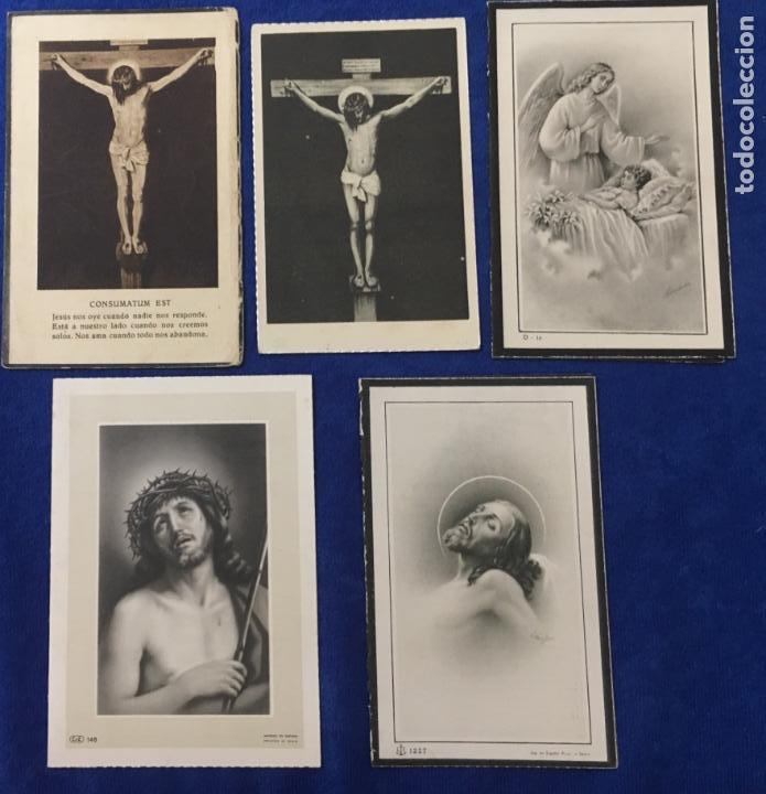 Postales: Lote Antiguo de Tarjetas Postales, Recordatorios y otros religiosos . 35 unidades. Ver fotos - Foto 7 - 150954614