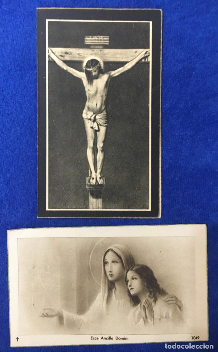 Postales: Lote Antiguo de Tarjetas Postales, Recordatorios y otros religiosos . 35 unidades. Ver fotos - Foto 8 - 150954614