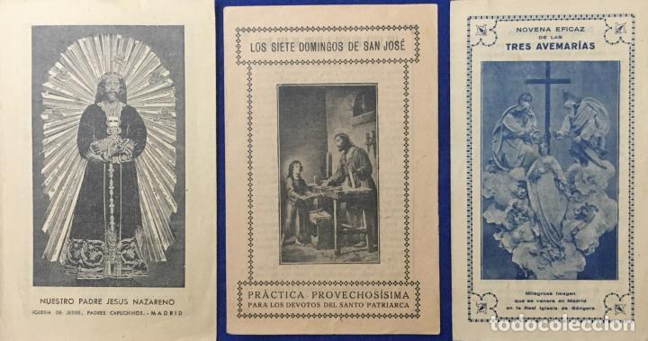 Postales: Lote Antiguo de Tarjetas Postales, Recordatorios y otros religiosos . 35 unidades. Ver fotos - Foto 10 - 150954614