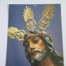 Postales: TARJETA TAMAÑO POSTAL - NUESTRO PADRE JESUS DE LA SENTENCIA - PARROQUIA DE SANTIAGO - MALAGA - 1978. Lote 151593830