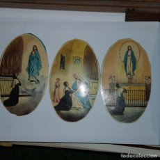 Postales: 3 IMAGENES VIRGEN. Lote 152258738