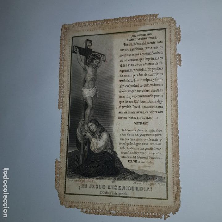 MI JESUS MISERICORDIA (100 DIAS INDULGENCIA) (Postales - Postales Temáticas - Religiosas y Recordatorios)