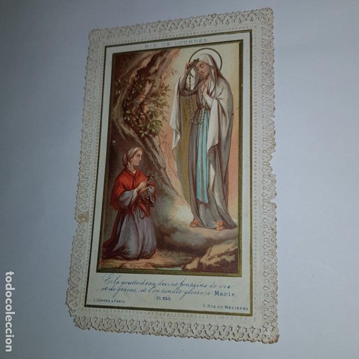 VIRGEN MARIA PUNTILLA (Postales - Postales Temáticas - Religiosas y Recordatorios)