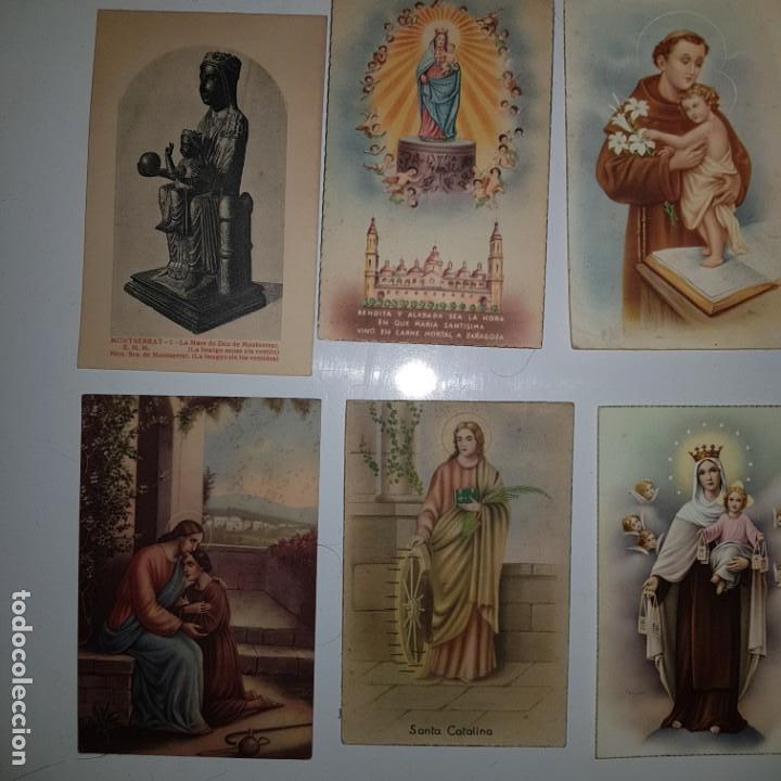 Postales: LOTE DE 10 IMAGENES RELIGIOSAS - Foto 2 - 152265622