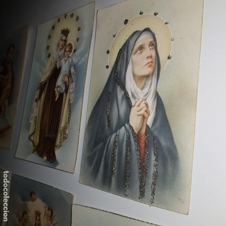Postales: LOTE DE 10 IMAGENES RELIGIOSAS - Foto 4 - 152265622