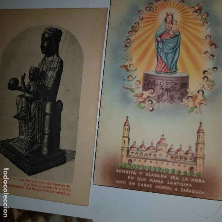 Postales: LOTE DE 10 IMAGENES RELIGIOSAS - Foto 6 - 152265622