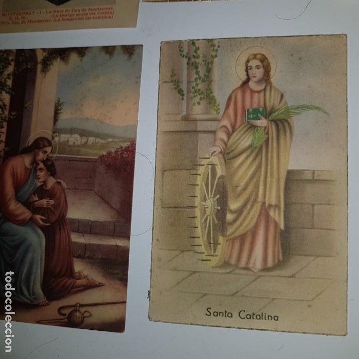 Postales: LOTE DE 10 IMAGENES RELIGIOSAS - Foto 7 - 152265622