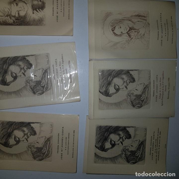 Postales: 9 ESTAMPAS PRIMERA COMUNION - Foto 2 - 152267182