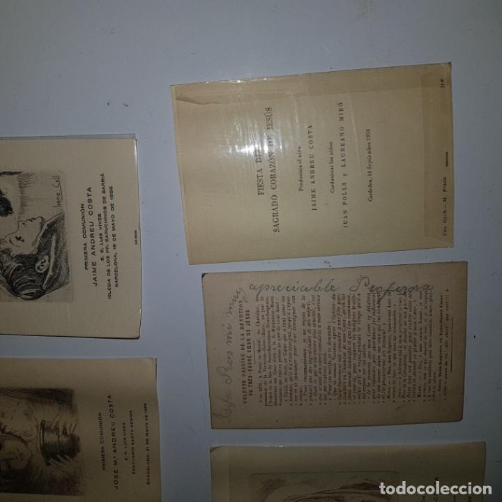 Postales: 9 ESTAMPAS PRIMERA COMUNION - Foto 4 - 152267182