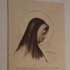 Postales: ANTIGUA NOVENA DE CONFIANZA.SANTA MAGDALENA SOFIA. 1923. Lote 152564162