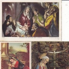 Postales: 3 ESTAMPAS RECORD MISSA DEL GALL 1956, 60 Y 1963 IGLESIA ST. MAGÍ TARRAGONA . Lote 152570202