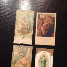 Postales: 4 RECORDATORIOS. Lote 153117522