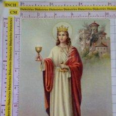 Postales: POSTAL RELIGIOSA SEMANA SANTA. AÑO 1970. SANTA BÁRBARA. 2276. Lote 153146206