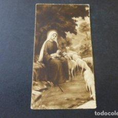 Postales: DIVINA PASTORA ANTIGUA ESTAMPA. Lote 154431958