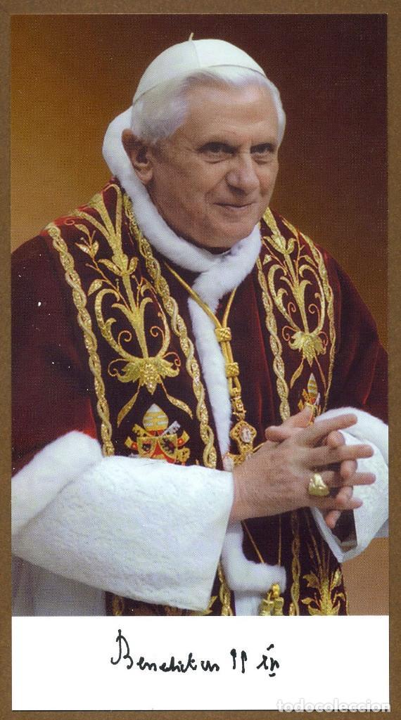 BENEDICTO XVI - 2010 (Postales - Postales Temáticas - Religiosas y Recordatorios)