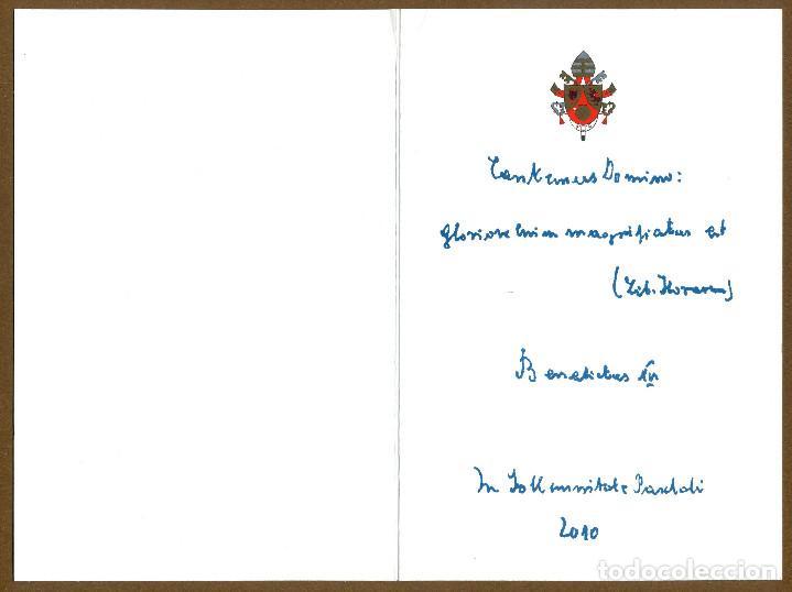 Postales: Benedicto XVI - 2010 - Foto 3 - 154844362