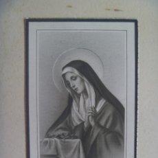 Postales: RECORDATORIO DE SEÑORA FALLECIDA EN 1946 EN MADRID. Lote 154880334