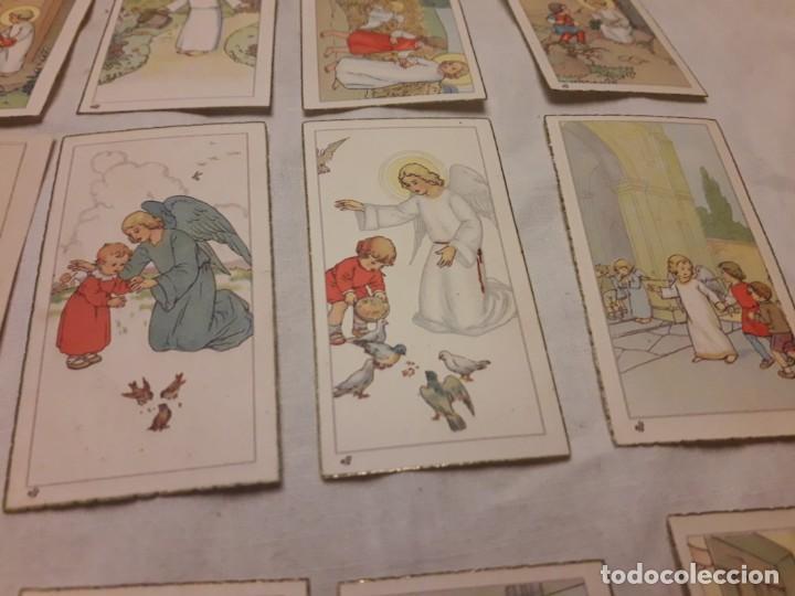 Postales: Preciosa antigua colección 23 estampas religiosas años 20, Jesucristo Niño. - Foto 4 - 155186618