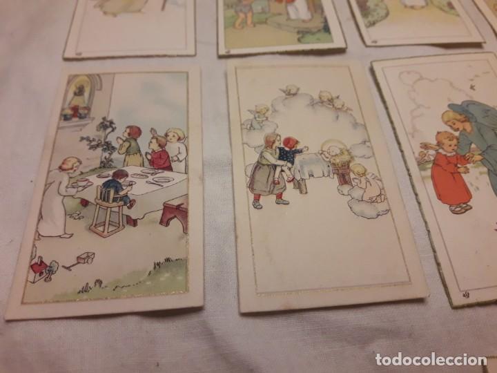 Postales: Preciosa antigua colección 23 estampas religiosas años 20, Jesucristo Niño. - Foto 5 - 155186618