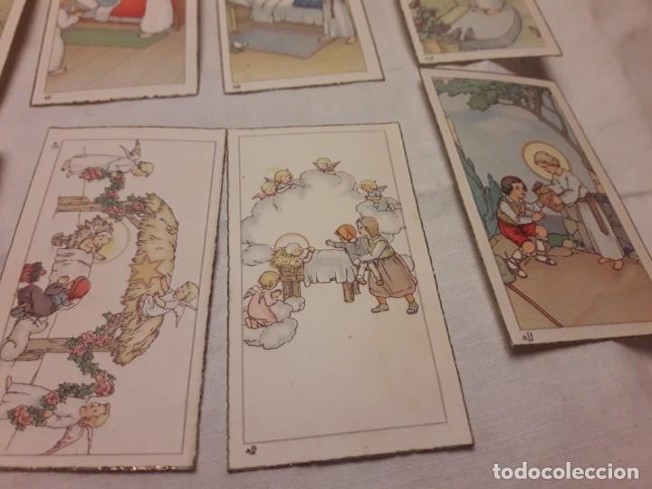 Postales: Preciosa antigua colección 23 estampas religiosas años 20, Jesucristo Niño. - Foto 8 - 155186618