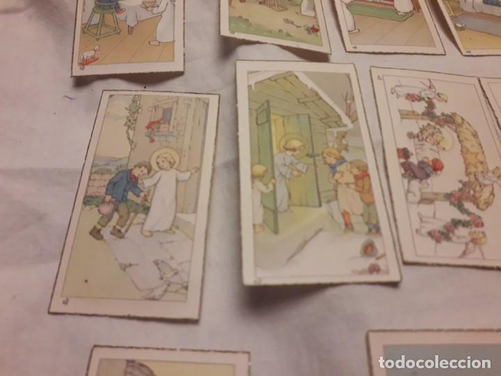 Postales: Preciosa antigua colección 23 estampas religiosas años 20, Jesucristo Niño. - Foto 9 - 155186618
