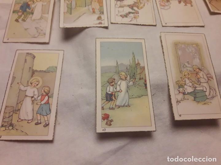 Postales: Preciosa antigua colección 23 estampas religiosas años 20, Jesucristo Niño. - Foto 10 - 155186618