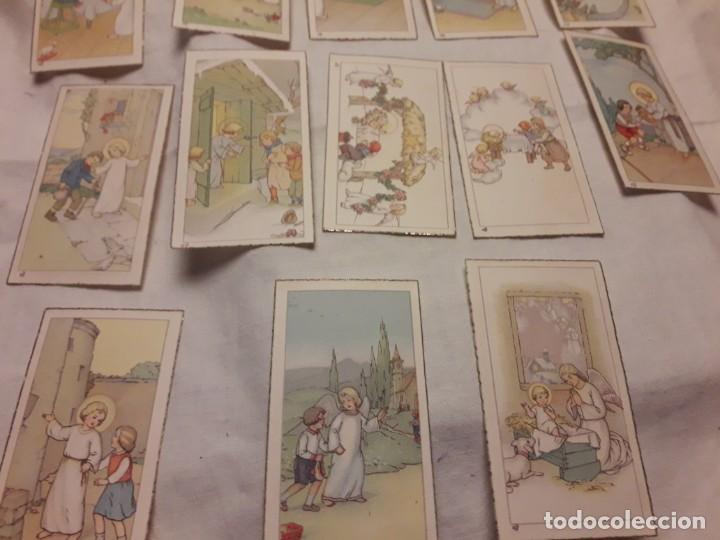 Postales: Preciosa antigua colección 23 estampas religiosas años 20, Jesucristo Niño. - Foto 12 - 155186618