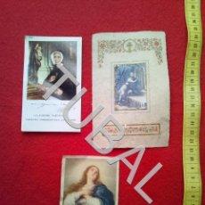 Postales: TUBAL 3 ESTAMPAS POSTALES RECORDATORIOS. Lote 155271598