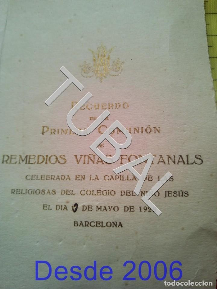 Postales: TUBAL 3 ESTAMPAS POSTALES RECORDATORIOS - Foto 3 - 155271598
