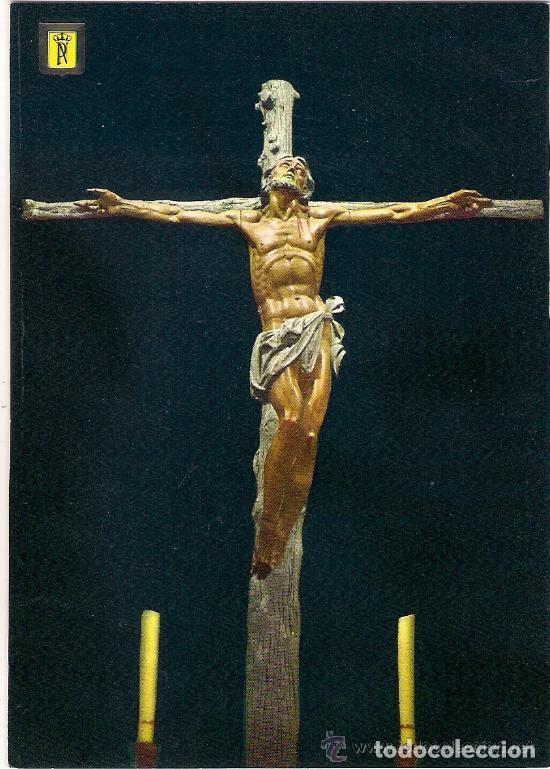 -28491 POSTAL RELIGIOSA CRISTO DEL ALTAR MAYOR SANTA CRUZ DEL VALLE DE LOS CAIDOS (Postales - Postales Temáticas - Religiosas y Recordatorios)